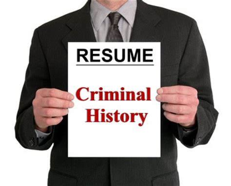 How Can I Clean Up My Criminal Record This Weeks Top Resume Lie Criminal History Hirewise