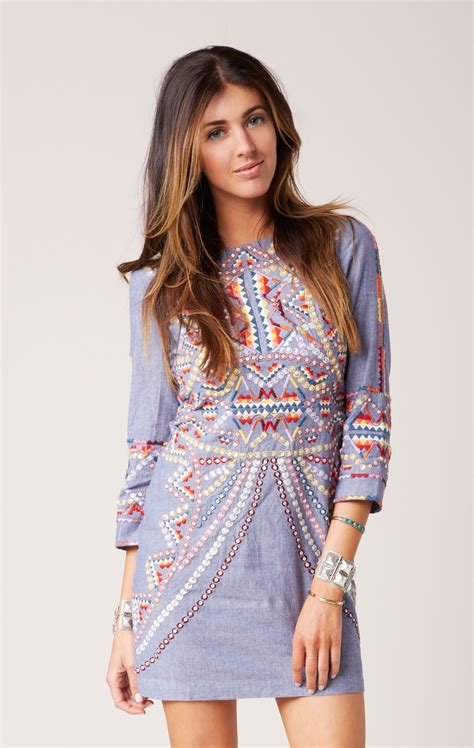 Batik Dress Mini antik batik brian mini dress in blue lyst