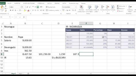 tabla para calcular ir en nicaragua tabla para calcular ir en nicaragua tabla progresiva del