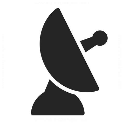 satellite dish icon iconexperience professional icons