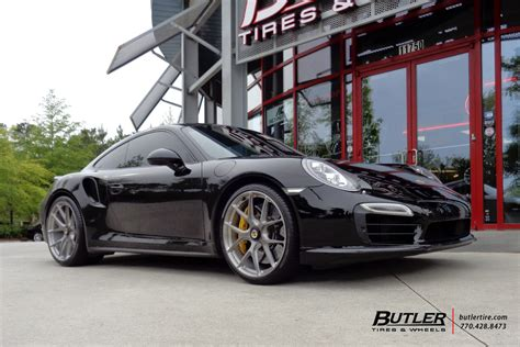 Kaos Bigsize Porsche 101 porsche 991 turbo with 21in hre p101 wheels exclusively from butler tires and wheels in
