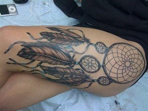 dreamcatcher tattoo placement dreamcatcher tattoo thigh thigh tattoo leg tattoo