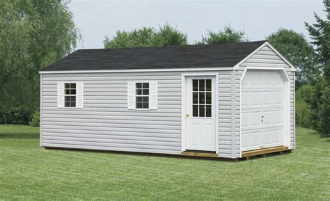 2 Car Garage Shed by Product Luoman