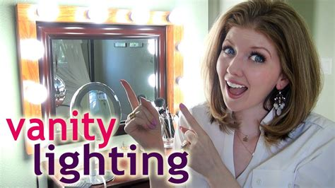 best lights for makeup my vanity lighting how to apply makeup at night youtube