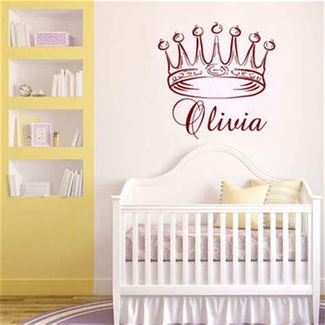 Princess Wall Decals For Nursery Best Princess Crown Wall Decor Products On Wanelo