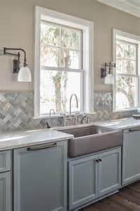 quartz counters transitional kitchen benjamin shale reu architects