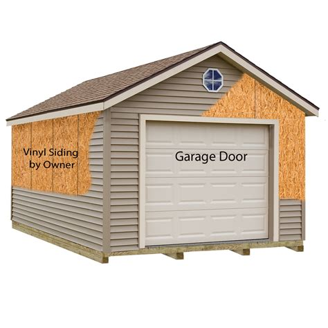 home depot garage plans greenbriar garage kit prep for vinyl garage kit