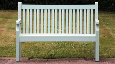 benches co uk sandwick winawood benches thin slats and flat arms