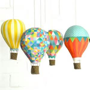 How To Make Air Balloon With Paper - decor diy inspiration air balloons make paper