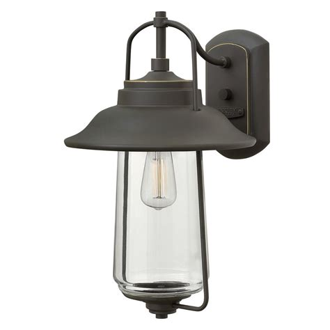 oil rubbed bronze outdoor wall light hinkley lighting belden place oil rubbed bronze outdoor