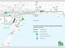 Race Course Reroute Confirmed for Grandma's Marathon ... Grandma's Marathon Course Map