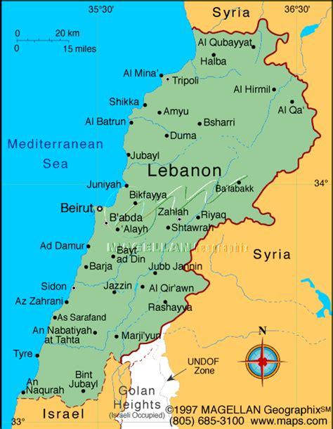 world map lebanon indigenous signs lebanon