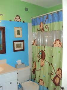 Monkey bathroom little boys bathroom ideas pinterest