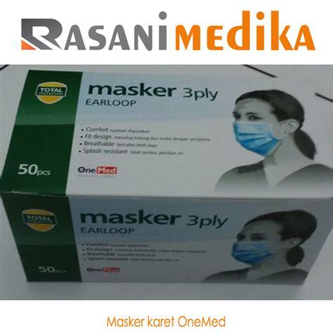 Masker Onemed masker karet onemed rasani medika