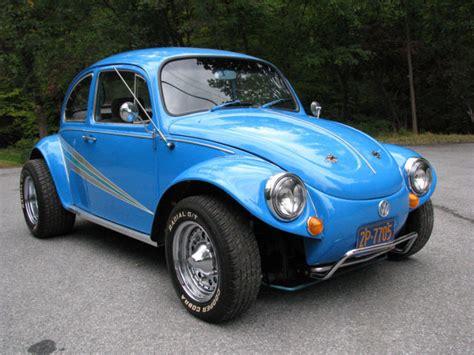 awesome baja bug big motor  interior newer rims  tires sharp paint fast  sale