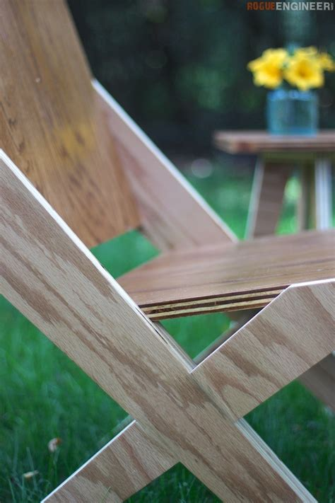 plywood projects diy 1 sheet of plywood 2 chairs 1 side table free plans