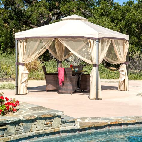 10x10 Screen Gazebo The Benefits Of 10 X 10 Screened Gazebo Gazebo Ideas