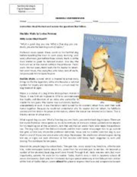 Hachiko Waits Reading Comprehension Hachiko Movie Summary