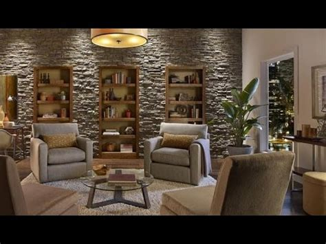 3d Wallpaper For Bedroom by Create An Accent Wall With Faux Stone Panels Youtube