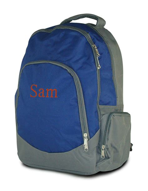 boys school backpacks personalized