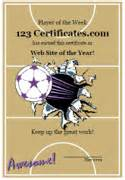free printable netball certificates netball awards