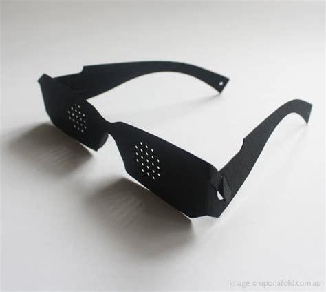 paper glasses kami megane numberseventysix