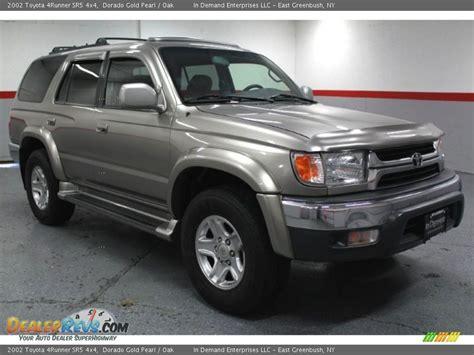 2002 Toyota 4runner Limited 2002 Toyota 4runner Sr5 4x4 Dorado Gold Pearl Oak Photo