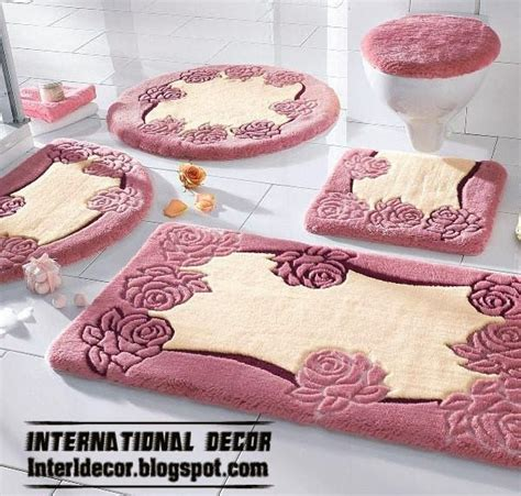 pink bathroom rugs and mats bathroom rugs sets gen4congress