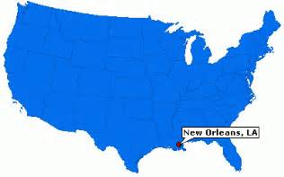 New Orleans Us Map by New Orleans Louisiana City Information Epodunk
