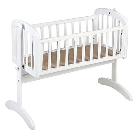 baby swinging crib buy john lewis anna swinging crib white john lewis