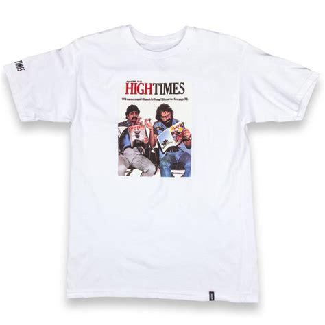 Hoodie High Times Back Print Station Apparel huf x high times cheech chong t shirt white