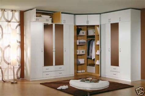 Bedroom Set With Wardrobe Closet - modern european bedroom closet wardrobe clothes armoire ebay