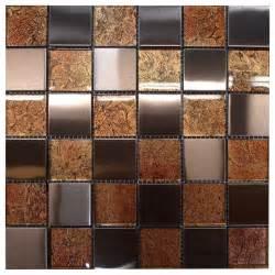 w31 copper glass copper steel mosaic contemporary tile
