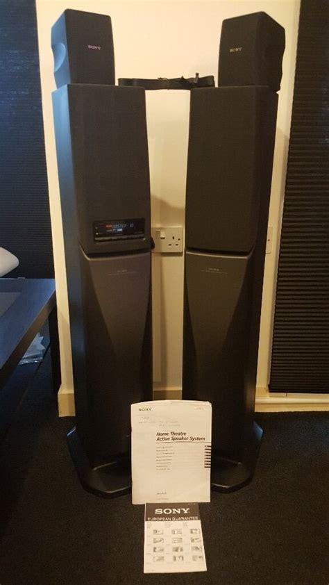 sony sa va home cinema active theatre speaker system