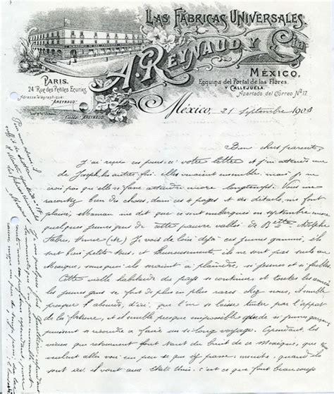 Exemple De Lettre Epistolaire Correspondance De L 233 On Martin Un Patrimoine 233 Pistolaire 171 Fran 231 Ais 187 Au Mexique Articles