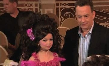 toddlers tiaras with tom hanks tom hanks stars in toddlers and tiaras spoof for jimmy