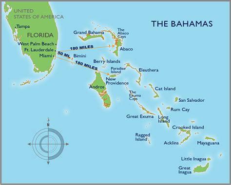 map usa bahamas bahamas map distances