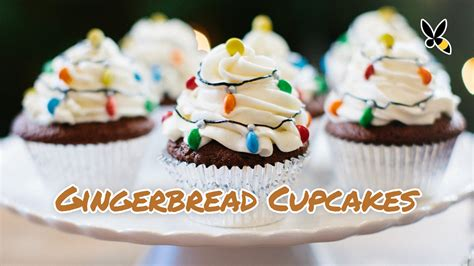 cupcake lights how to make these lights gingerbread cupcakes with