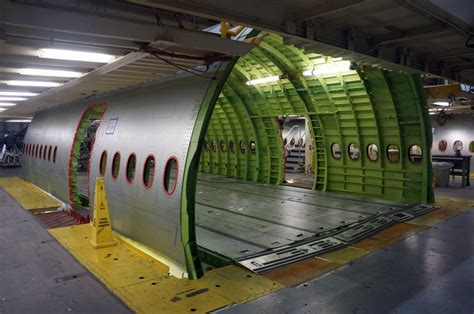 fuselage section aircraft design what would prevent the installation of