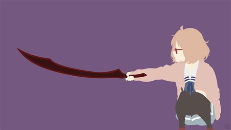 beyond the boundary mirai kuriyama beyond the boundary by ncoll36 on deviantart