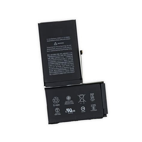 iphone xs max replacement battery ifixit