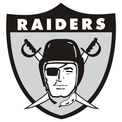 2017 Logo Colors oakland raiders logos and clipart