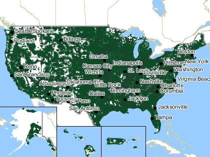 sprint coverage map in sprint nationwide coverage
