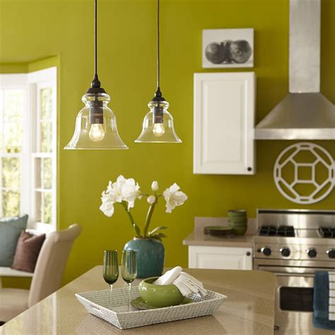 mini pendant lights for kitchen island shop allen roth 8 in w bronze standard mini pendant