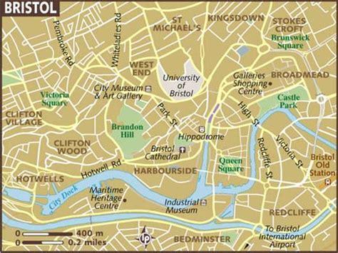 bristol map map of bristol