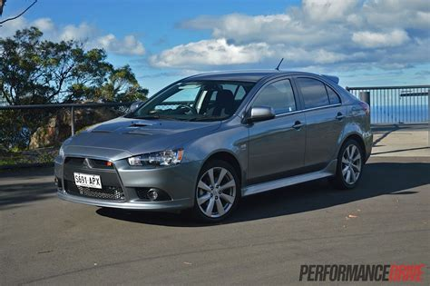 mitsubishi silver 2013 mitsubishi lancer ralliart sportback review video