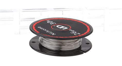 Nichrome Wire Ni80 26 Awg By Youde Ud 2 20 authentic ud nichrome heating wire for rebuildable atomizers 26 awg 0 4mm 10m 8