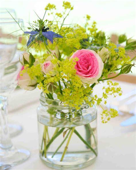 simple flower arrangements for tables 39 simple wedding centerpieces martha stewart weddings