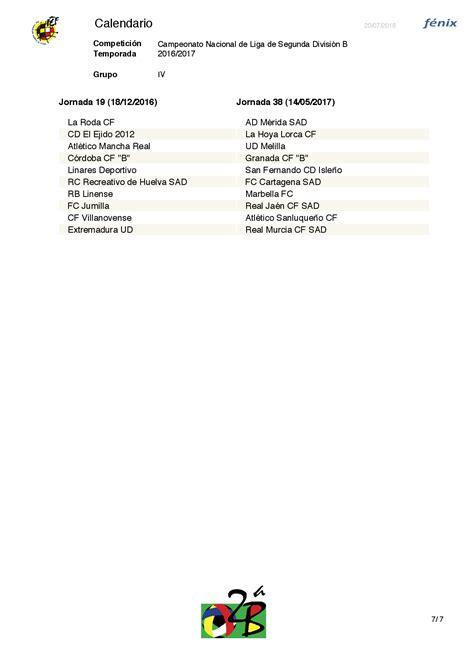 Calendario 2 Division B La Rfef Ha Dado A Conocer El Calendario De La Segunda