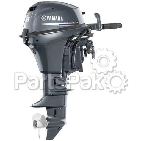 Yamaha F8smhb F8 8 Hp Short Shaft 15 Quot Manual Start
